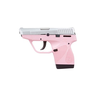 Taurus 738 Tcp 3.3in 380 Auto Stainless Pink Polymer Fixed 6+1rd