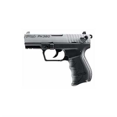Walther Arms Inc Pk380 3.6in 380 Auto Nickel 8+1rd