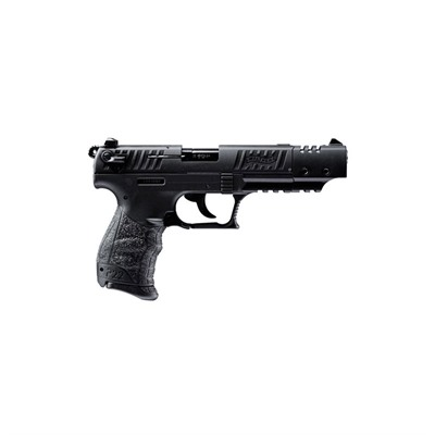 Walther Arms Inc P22 Target 5in 22 Lr Black Black Polymer 3 Dot Fixed 10+1rd - P22 Target 5in 22 Lr Black Black Polymer 3 Dot Fixed 10+1