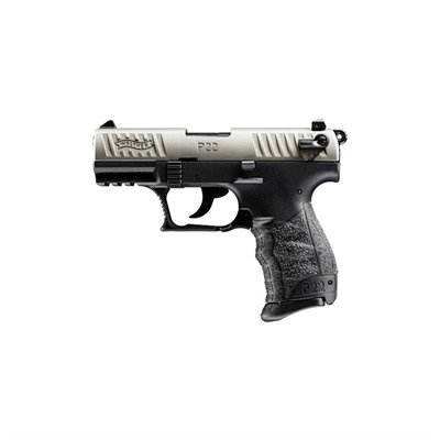 Walther Arms Inc P22 Ca 3.42in 22 Lr Nickel 10+1rd