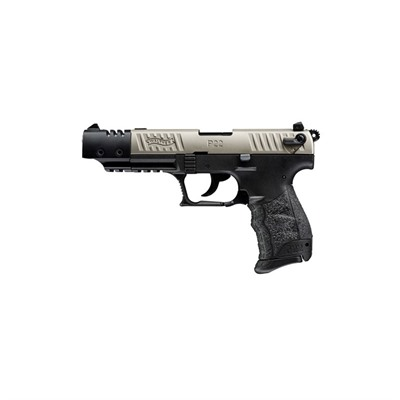 Walther Arms Inc P22 Target Ca 5in 22 Lr Nickel 10+1rd