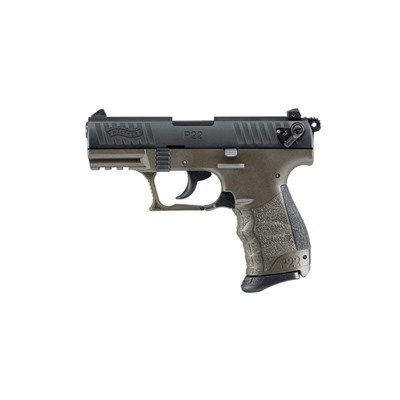 Walther Arms Inc P22 Military Ca 3.42in 22 Lr O.D. Green (Odg) 10+1rd