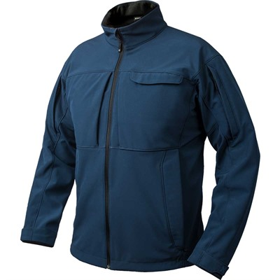 Vertx Men's Downrange Softshell Jackets - Downrange Softshell Jacket Bering Blue Small