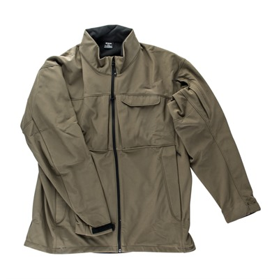 Vertx Men's Downrange Softshell Jackets - Downrange Softshell Jacket Burnt Ash Large