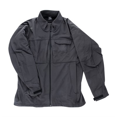 Vertx Men's Downrange Softshell Jackets - Downrange Softshell Jacket Shadow Grey Small