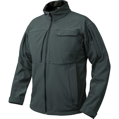 Vertx Men's Downrange Softshell Jackets - Downrange Softshell Jacket Slate Grey Large
