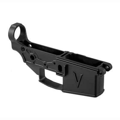 Ar-15 Lower Receiver Enlightened Aluminum - Ar-15 Lower Receiver Enlightened Aluminum Blk