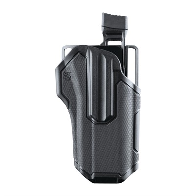 Blackhawk Omnivore Level 2 Holster - Omnivore L2 Tlr 1/2 Light Bearing Right Hand Black
