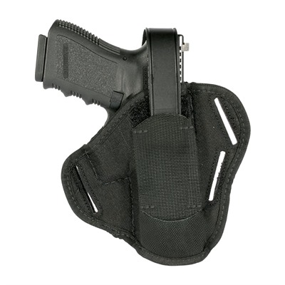 """Blackhawk Industries Sportster Belt Holster W/Strap/Mag Pouch For 4"""" Autos & Revolvers Sportster Belt Holster W/ Strap & Mag Pouch For 4 Autos & USA & Canada"""