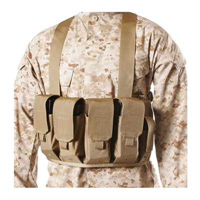 Image of Blackhawk Industries Ak-47 Chest Pouches 4 Mags & 2 Pistol