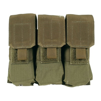 Blackhawk Ar-15 Strike Triple Mag Pouch Holds 6 - Strike  Triple Mag Pouch Holds 6 - Olive Drab