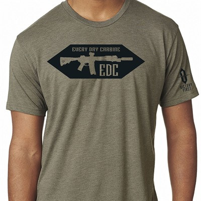 Victory First Men's Every Day Carbine T-Shirts - Every Day Carbine Tshirt Venetian Gray Md