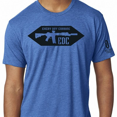 Victory First Men's Every Day Carbine T-Shirts - Every Day Carbine Tshirt Vintage Royal Md
