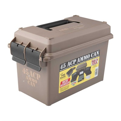 Ammo Can 45acp Polymer Tan