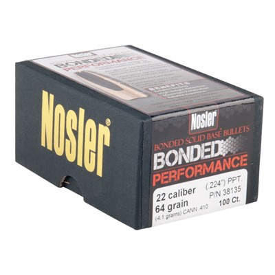 Bonded Solid Base Bullets