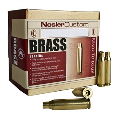 Nosler 6.5mm Grendel Brass Case - 6.5mm Grendel Brass 50/Box