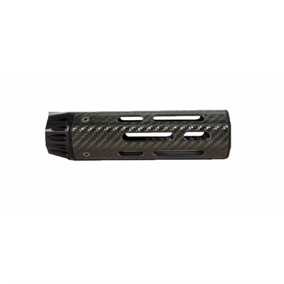 Lancer Systems Ar-15 Lch5 Handguard Carbon Fiber Free Float - Lch5 Handguard Carbon Fiber Free Float  7   Black