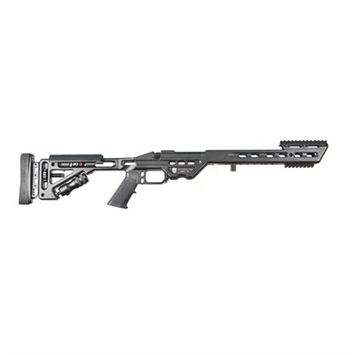 Rem 700 La Stock Adjustable - Rem 700 La Stock Adj Aluminum Blk