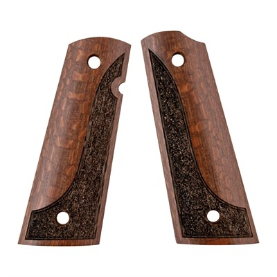 1911 Exotic Wood Grips - 1911 Exotic Wood Grip Made From Leopardwood