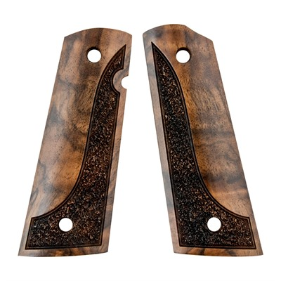 Artisan Stock And Gunworks Inc 1911 Exotic Wood Grips - 1911 Exotic Wood Grip Made From Turkish Walnut