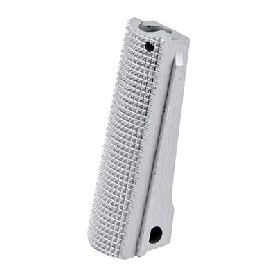 Fusion Firearms 1911 Checkered Alloy Government Mainspring Housings - 1911 Govt Ss Checkered Alloy Mainspring Housing