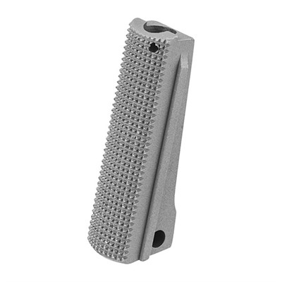 Fusion Firearms 1911 Checkered Steel Government Model Mainspring Housings - 1911 Govt Ss Checkered Steel Mainspring Housing