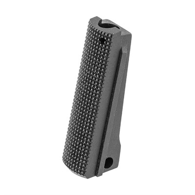 Fusion Firearms 1911 Checkered Steel Government Model Mainspring Housings - 1911 Govt Black Checkered Steel Mainspring Housing