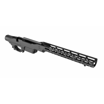 Brownells Tikka T3x Brn-1 Precision Chassis - Tikka T3 (Long Magwell) Chassis Matte Black