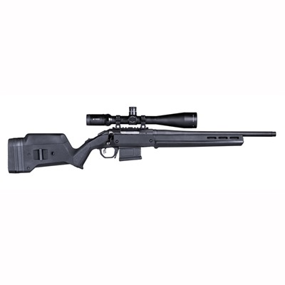 Magpul Ruger American Short Action Stock Adjustable - Ruger American  S Action Stock Adjustable Polymer Black