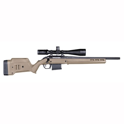 Magpul Ruger American Short Action Stock Adjustable - Ruger American  S Action Stock Adjustable Polymer Fde