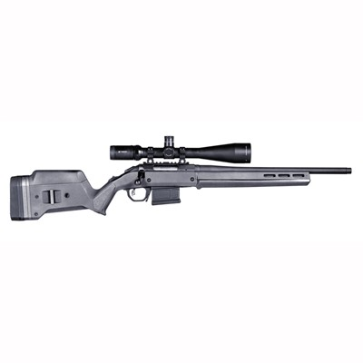 Magpul Ruger American Short Action Stock Adjustable - Ruger American  S Action Stock Adjustable Polymer Gray
