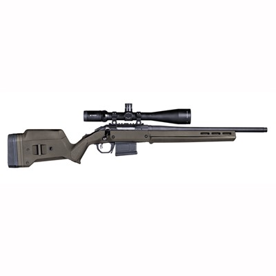 Magpul Ruger American Short Action Stock Adjustable - Ruger American  S Action Stock Adjustable Polymer Od Green