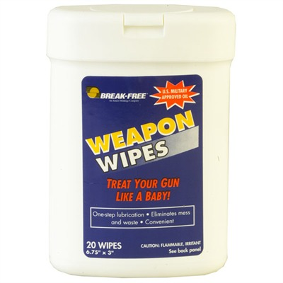 Break Free Weapon Wipes