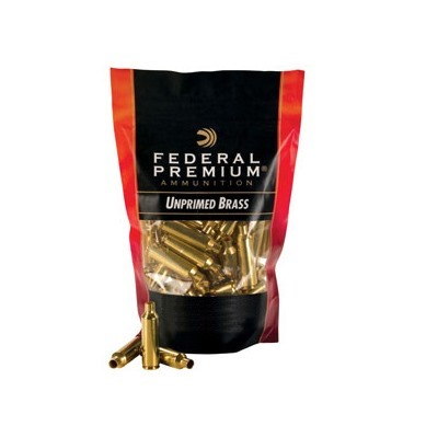 Federal 30-06 Springfield Brass Case - 30-06 Springfield Brass 50/Bag