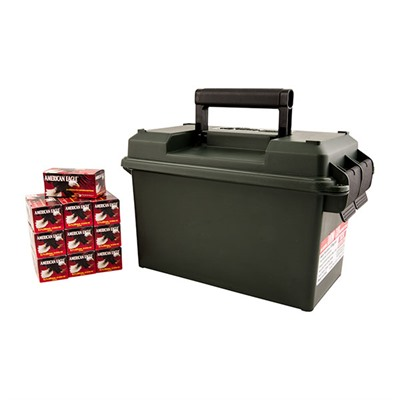 American Eagle Ammo 5.7x28mm 40gr Fmj Ammo Can - 5.7x28mm 40gr Full Metal Jacket 500/Ammo Can