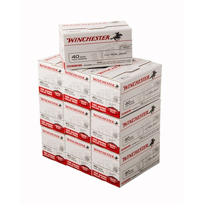 Winchester White Box Ammo 38 Special 130gr Fmj 38 Special 130gr Full Metal Jacket 1000/Case USA & Canada