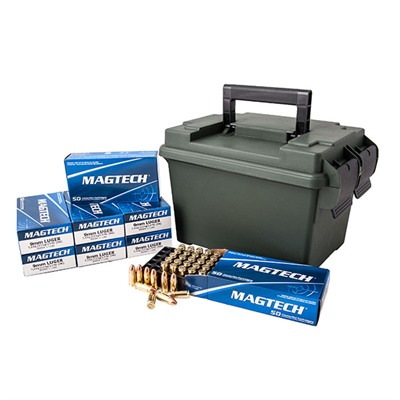 9mm Luger 115gr Fmj 400 Round Ammo Can - 9mm Luger 115gr Full Metal Jacket 400/Ammo Can