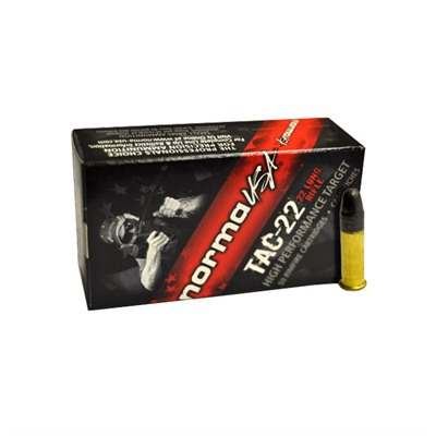 Tac-22 Ammo 22 Long Rifle 40gr Lead Round Nose - 22 Long Rifle 40gr Lead Round Nose 500/Box