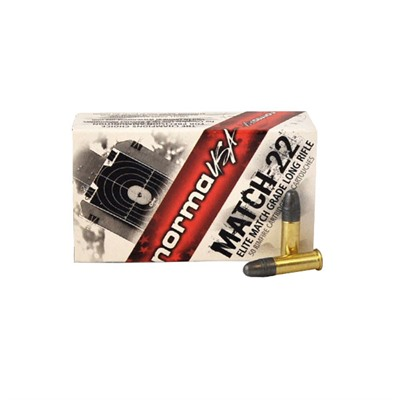 Match-22 Ammo 22 Long Rifle 40gr Lead Round Nose - 22 Long Rifle 40gr Lead Round Nose 50/Box