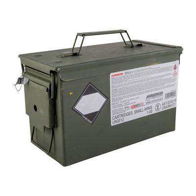 Winchester M882 9mm Nato 124gr Ball 1000 Rd Ammo Can 9mm Nato 124gr Full Metal Jacket 1,000/Can