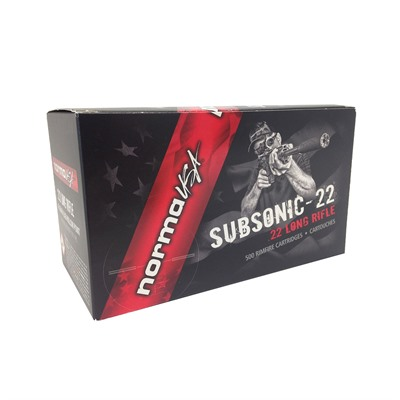 22 Long Rifle Subsonic 40gr Lead Hp - 22 Long Rifle 40gr Subsonic Lead Hollow Point 500/Brick