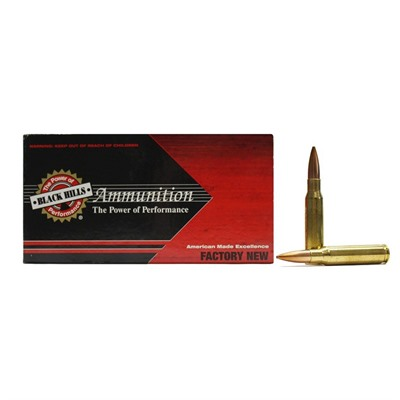 Black Hills Ammunition 308 Winchester 175gr Match Hollow Point Ammo - 308 Winchester 175gr Match Hp 20/Box