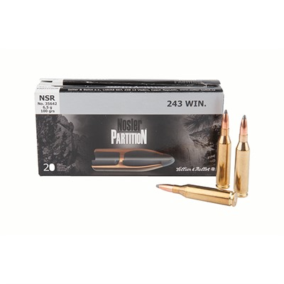 Nosler Partition Ammo