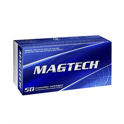Magtech Ammunition Sport Shooting Ammo 357 Magnum 158gr Sjhp - 357 Magnum 158gr Semi Jacketed Hollow Point 50/Box