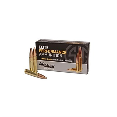Sig Sauer Elite Performance Match Ammo 300 Aac Blackout Subsonic