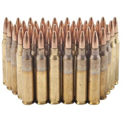 American Eagle Tactical Ammo 223 Remington 55gr Fmj-Bt - 223 Remington 55gr Full Metal Jacket Bt 1,0