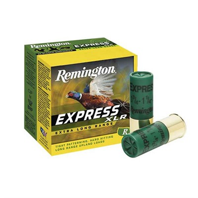 Remington Express Xlr Ammo 12 Gauge 2 3 4 1 1 4 Oz 5 Shot 12 Gauge 2 3 4 1 1 4 Oz 5 Shot 25 Box
