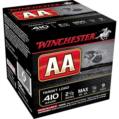 Winchester Aa Target Ammo 410 Bore 2-1/2