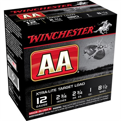 Winchester Aa Extra Light Ammo 12 Gauge 2-3/4