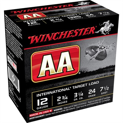 Winchester Aa Target Extra Light Ammo 12 Gauge 2-3/4